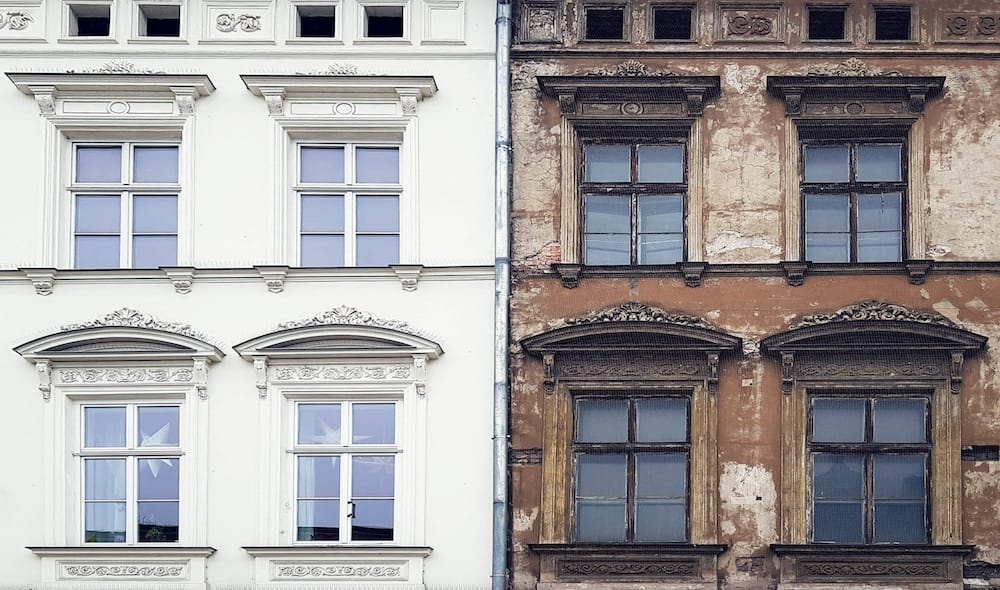Fassadengestaltung - Hausfassadengestaltung Malermeister Schliep